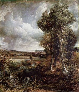 Dedham Vale - John Constable's Dedham Vale of 1802