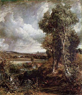 Dedham Vale - John Constable's Dedham Vale of 1828