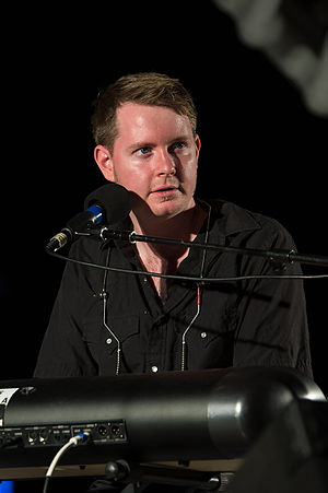 John Fullbright - Fullbright performing at the Myriad Gardens in Oklahoma City, OK.