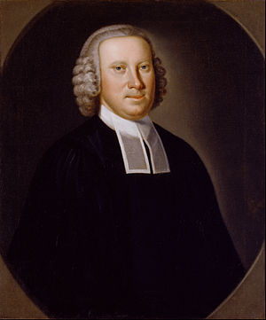 John Hesselius - Portrait of  Reverend Richard Brown by John Hesselius