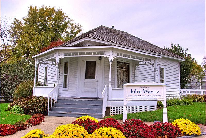 John Wayne 800px-John_Wayne_birthplace