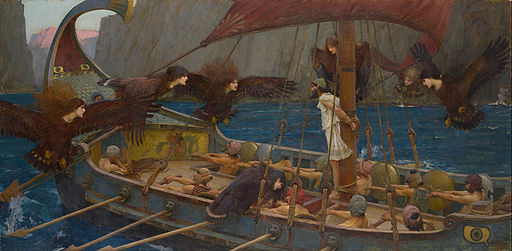 John William Waterhouse - Ulysses and the Sirens - Google Art Project