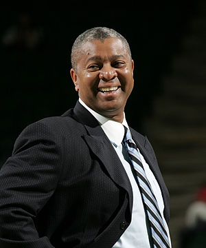 Johnny Jones (basketball coach) - Image: Johnny Jones Univ of N Texas coach