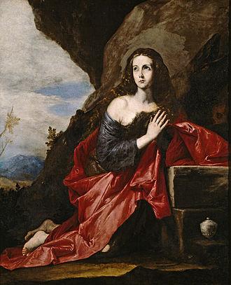 Thaïs (saint) - St. Thais by Jusepe de Ribera  (alternately, of St. Mary Magdalen).
