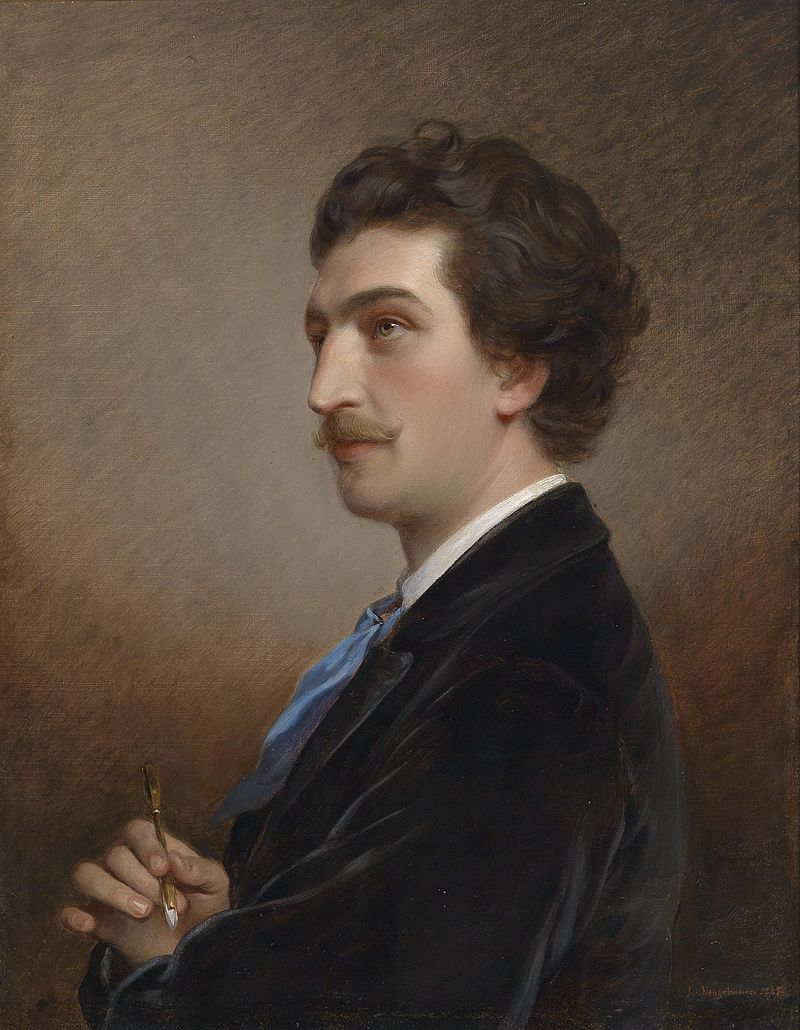 Портрет Антона Эберта. Худ. Йозеф Нойгебауер