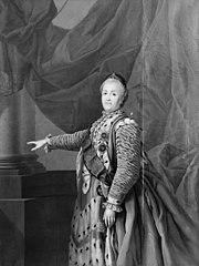 Portrait of Empress Catharine II of Russia