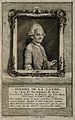Joseph Jérome de Lalande. Line engraving by C. F. Fritschius Wellcome V0003317.jpg