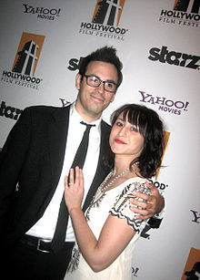 Joseph M Petrick and Kate Ryan at the 2009 Hollywood Film Awards.jpg