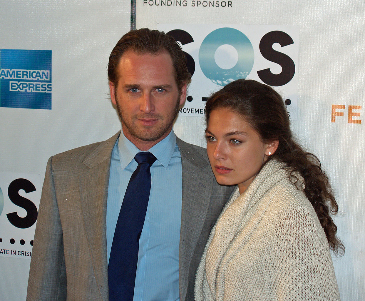 Former boyfriend and girlfriend: Josh Lucas and Alexa Davalos