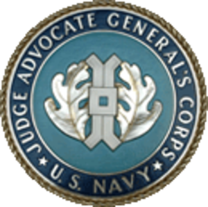 Judge Advocate General's Corps - U.S. Navy Judge Advocate General logo