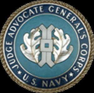Judge Advocate General's Corps - U.S. Navy Judge Advocate General logo