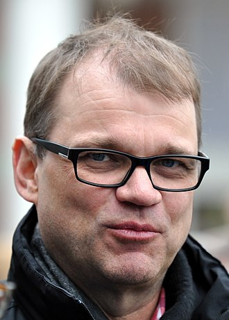 Prime Minister of Finland - Image: Juha Sipilä 18 4 2015