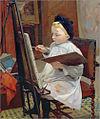 Jules Ernest Renoux - Marcel Renoux painting.jpg