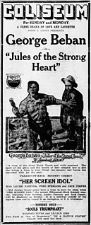 <i>Jules of the Strong Heart</i> 1918 film by Donald Crisp