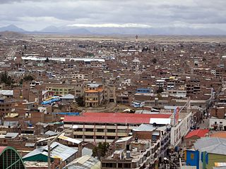 San Román Province Province in Puno, Peru