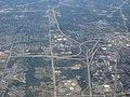 Junction of Michigan Route 5, Interstate 96, and Interstate 696, Farmington Hills, Michigan (21515481299).jpg