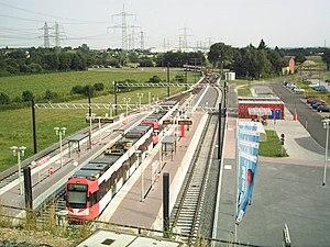 Köln-Weiden West station - Köln-Weiden West tram station