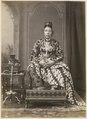 KITLV 10002 - Kassian Céphas - Hamengkoe Buwono VII sultan of Yogyakarta, in court dress - Around 1885.tif