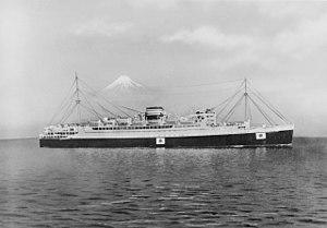 Kamakura Maru with Mount Fuji.jpg