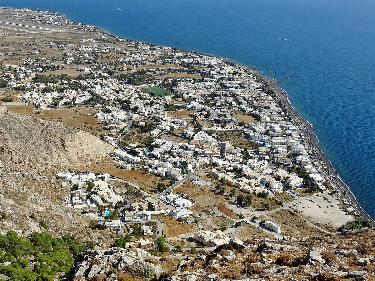 Kamari Travel Guide At Wikivoyage