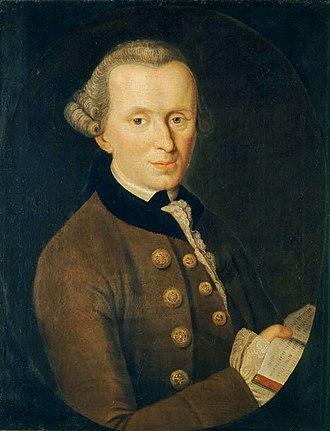 Immanuel Kant - Image: Kant gemaelde 3