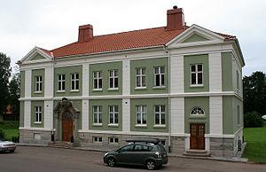 Karljohansvern -  Karljohansvern administration and chief residential buildings