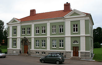 Karljohansvern - Karljohansvern administration and chief residential buildings