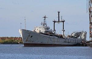 Soviet submarine S-80 - Image: Karpaty at Quay Vostochnaya Ust Rogatka Srednyaya Gavan Kronstadt 24 September 2010