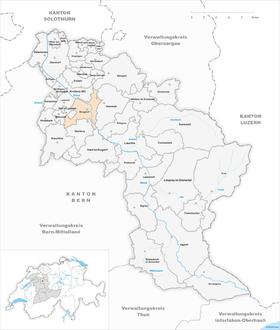 Karte von Burgdorf