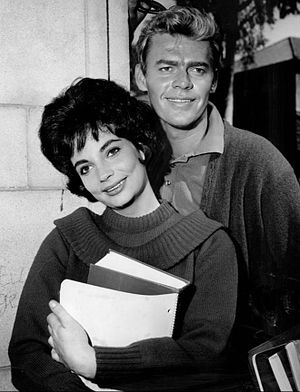 Karyn Kupcinet - Kupcinet with Skip Ward in Mrs. G. Goes to College, 1961