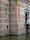 kasteel wijchen 03, aansluiting poortgebouw aan westvleugel