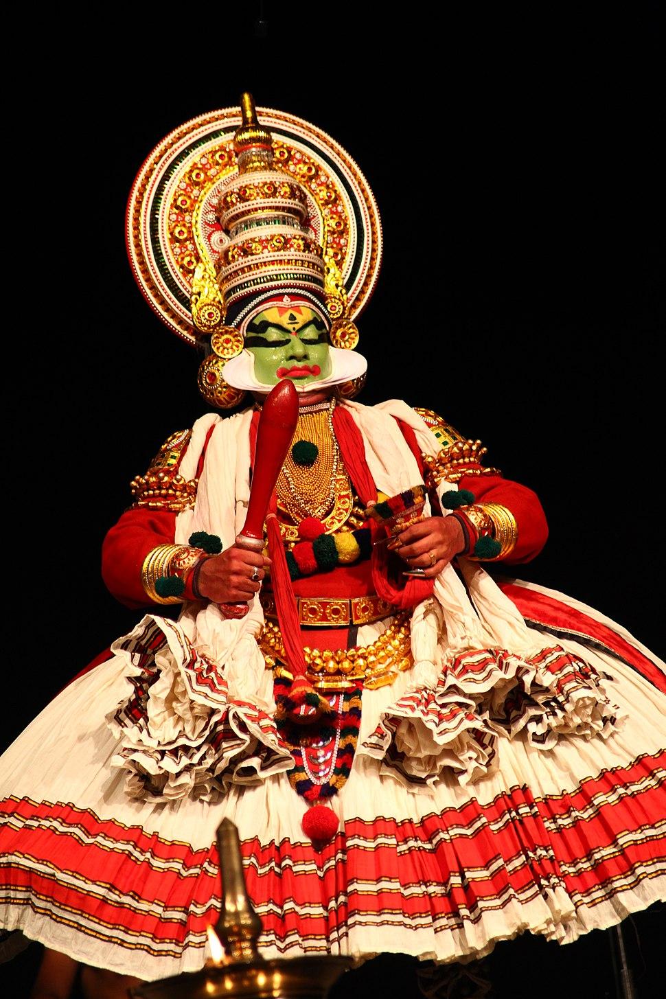 Kathakali IMG 0348 by Joseph Lazer