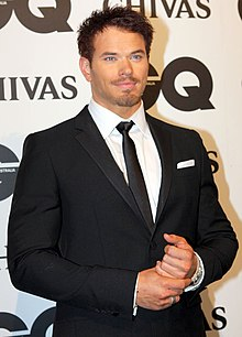 Kellan Lutz GQ Men of the Year -palkintogaalassa vuonna 2011.