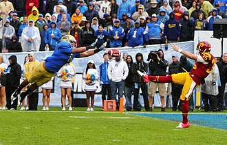 Eric Kendricks - Kendricks blocks a punt in a game against USC