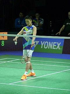 Kento Momota Badminton player