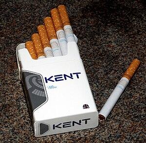 Kent (cigarette) - Image: Kentultra 1