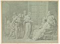 King Charles VIII of France with the Dying Gian Galeazzo Sforza at Pavia MET DP820569.jpg