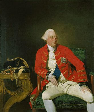Monarchy in New Brunswick - King George III, in whose honour New Brunswick is named, and who founded Saint John via royal charter