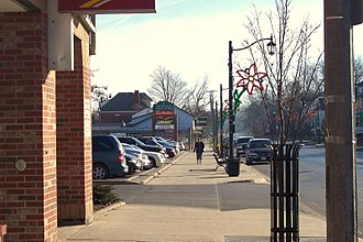 Beamsville, Ontario - King Street in Beamsville.