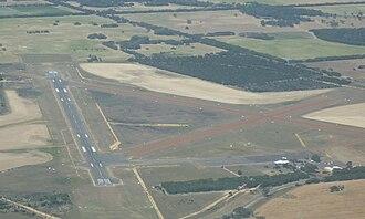 Kingscote Airport - Kingscote Airport prior to runway upgrade