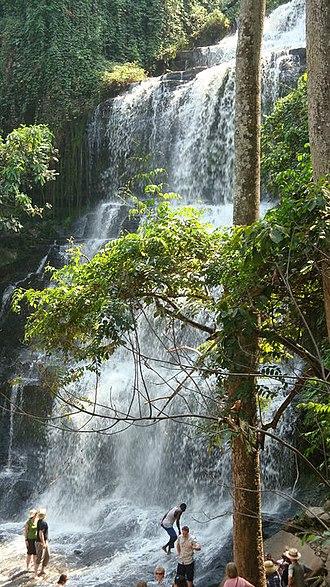 Kintampo waterfalls - Image: Kintampo waterfalls
