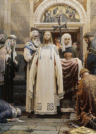 Christianization of Kievan Rus' - Baptism of St. Princess Olga