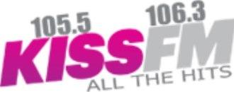 KHKZ - Image: Kiss FM10551063logo