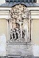 Klagenfurt Pfarrkirche hl Egid N-Seite zusammengestelltes Grabmal 1589 18102017 1613.jpg