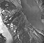 Klohkutz Glacier, terminus of mountain glacier, September 17, 1966 (GLACIERS 5541).jpg