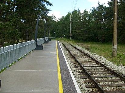 Kuidas ühistranspordiga sihtpunkti Klooga-Rand jõuda - kohast