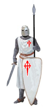 Vestimenta de un Caballero de Santiago