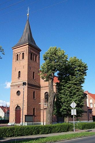 Dobrodzień - Image: Kościół Nawiedzenia NMP w Dobrodzieniu 2