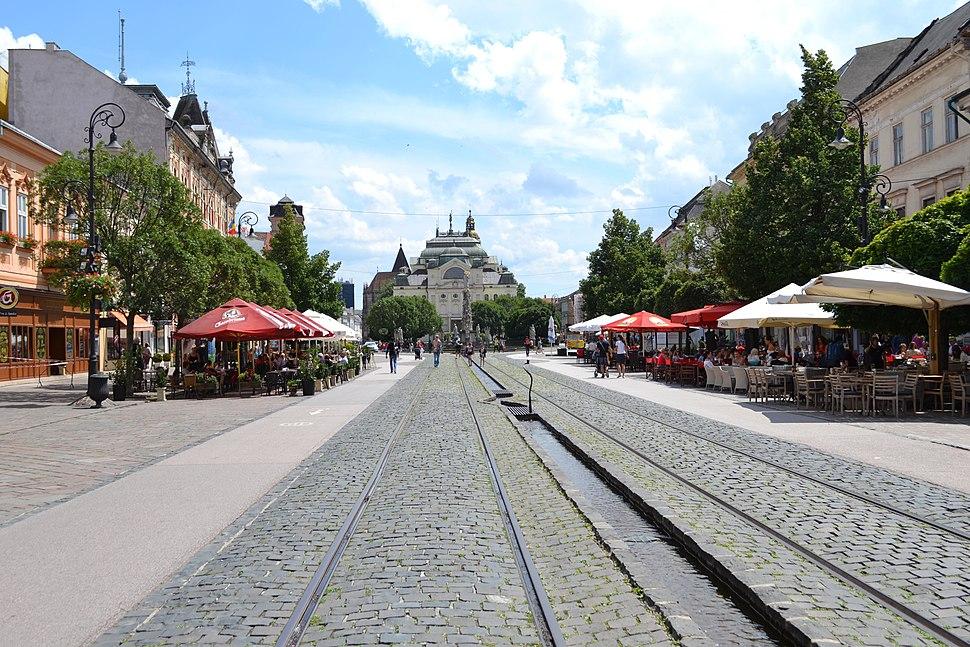 Košice - Hlavná ulica -a