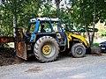 Kožlany, Ve mlejně, traktor.jpg